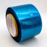 Nastro sigillante per sacchi permanenti di film blu / rosso